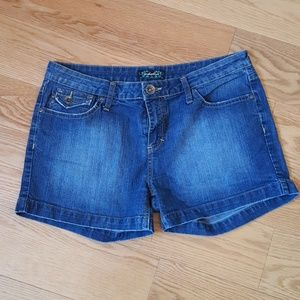Anchor Blue jean shorts